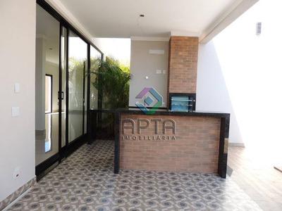 Casa Térrea Nova, Com Armários, Piscina, 3 Suítes, 206 M² - Condomínio Buona Vita - Ribeirão Preto/sp - Ca0461