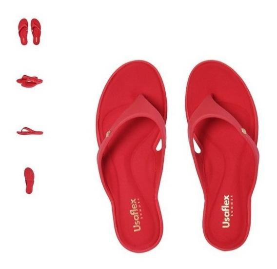 Chinelo Usaflex Vermelho