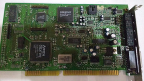 Placa De Som Isa Creative Sound Blaster Awe64 Ct4380