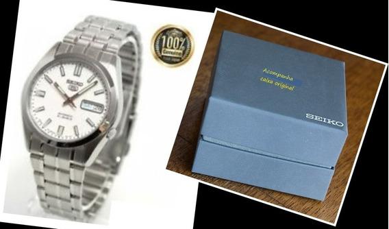 Relógio Seiko Automático Dia Data Snke 79j1 Made In Japan