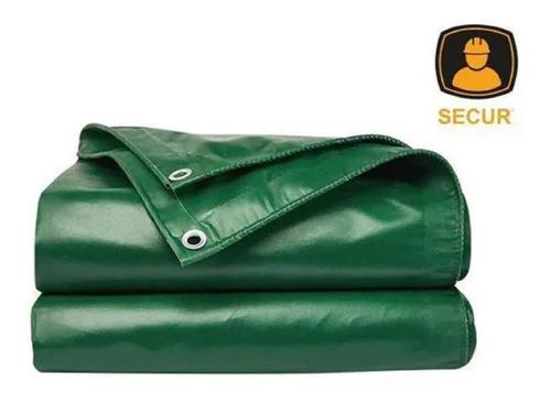 Lona Tipo Carreteiro  Multiuso  Secur 3x2mts Verde - Tyt