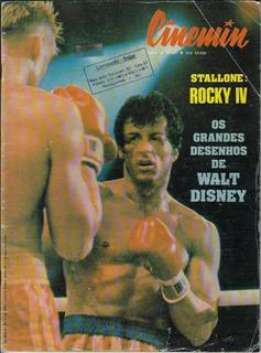 1986 Revista Cinemin Nº 21 Ebal Capa Filme Rocky Iv Stallone