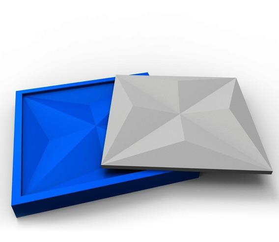 Forma Para Gesso 3d 100% Silicone Culinans/ Diamante