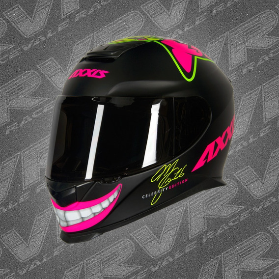 Capacete Axxis Eagle Mg16 Celebrity Ed Marianny Fosco Mt