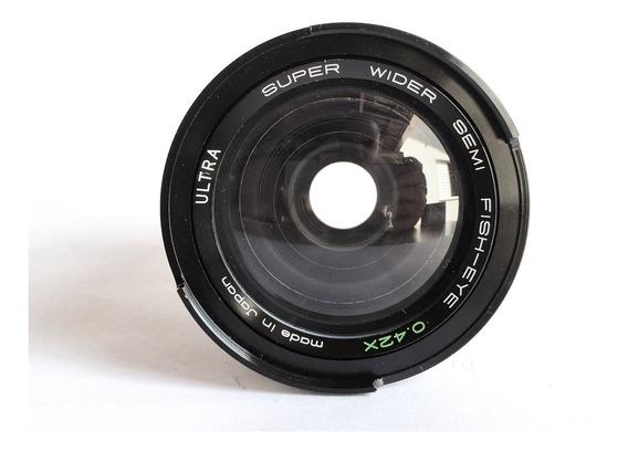 Lente Super Wider - Semi Fish-eye 0,42x Ultra Macro 49mm