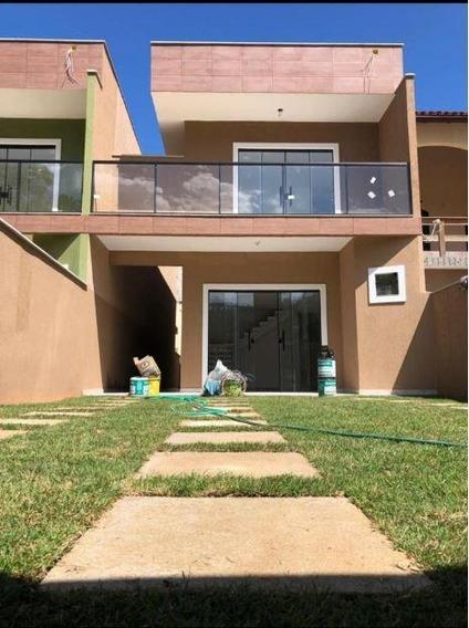 Excelente Casa Duplex, 1ª Locação, 2 Varadões, Sala, 4 Quartos, 2 Suítes, Banho, Lavabo, Copa Cozinha, Área, Quintal, 2 Vagas. - Ca1041
