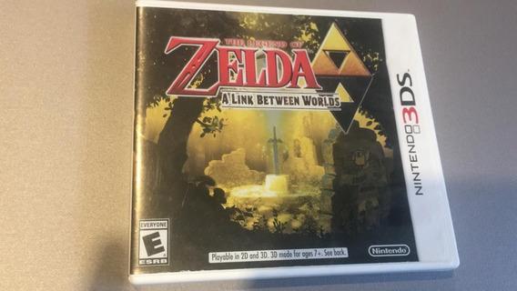 Zelda A Link Between Worlds Nintendo 3ds Usado
