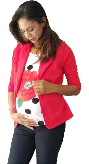 Saco/blazer De Lactancia Y Embarazo Ropa Maternidad
