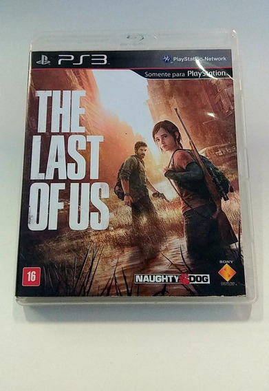 Jogo The Last Of Us Ps3 Original Usado