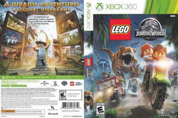 Lego Jurassic World Xbox 360- Mídia Digital