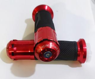 Puños Moto Sz Fz Dz. Rojos