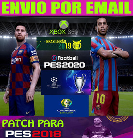 Patch Pes 2018 Xbox 360 Efootball 2020 Envio Email