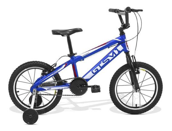 Bicicleta Infantil Gts Aro 16 Freio V-brake Adv New Kids Cl