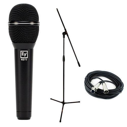 Micrófono De Voz Cardioide Dinámico Electro-voice Nd76 Con K