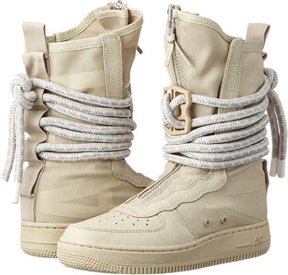 Botas Mujer Nike Sf Af1 Hi Air Force Talle 37.5 (7.5us)