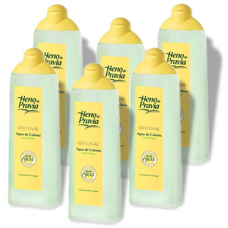 Colonia Heno De Pravia 750ml Fragancia Clasica Pack 6un