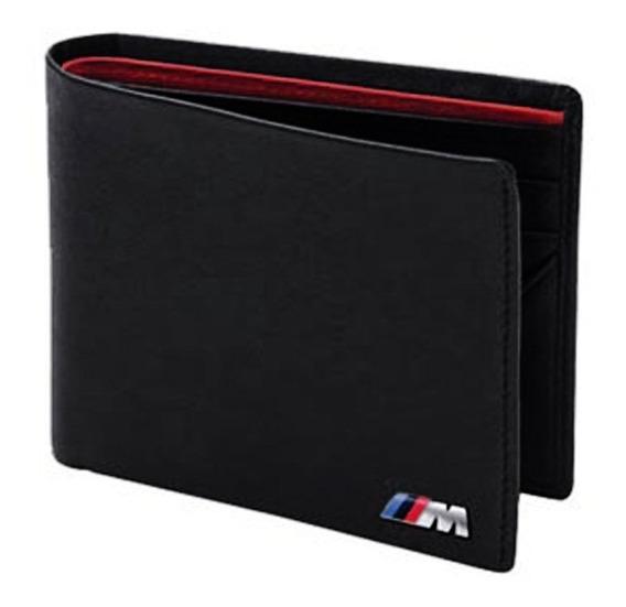 Cartera Billetera Bmw M Power Wallet Black 100% Original