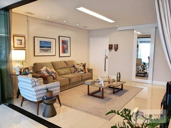 Apartamento Com 4 Dormitórios À Venda, 152 M² Por R$ 1.295.000,00 - Horto Florestal - Salvador/ba - Ap0378