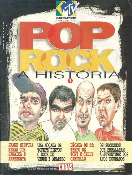 Revista Pop Rock Mtv Nº 1-skank,elvis Presley-roberto Carlos