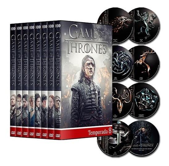 Game Of Thrones - 1° A 8° Temporadas Dubladas E Completas