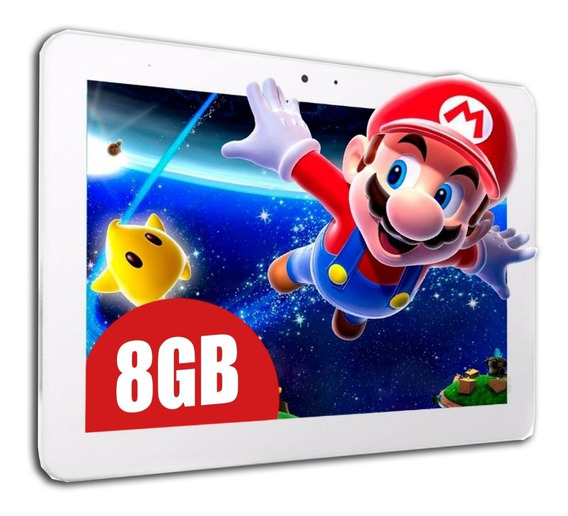 Tablet + Android Wifi 8gb Hd * Niños Smart * Quadcore Gamer