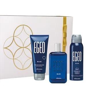 Kit Egeo Blue Masculino, Novo, Lançamento.