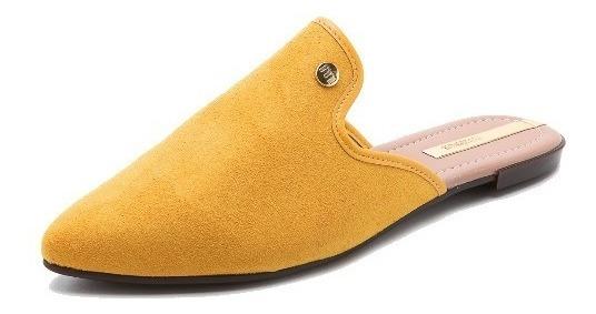 Mule Sapatilha Sapato Feminina Moleca Camurça