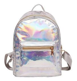 Mochila Mini Bag Bolsa Holográfica Tumblr Carnaval Fashion