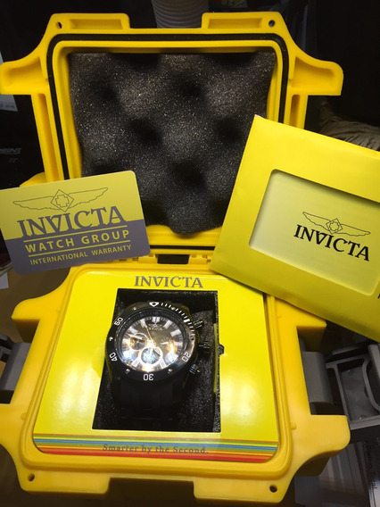 Relógio Invicta Seaspider Masculino Preto