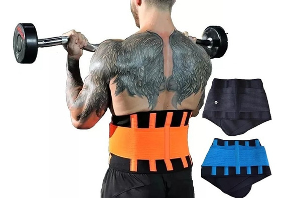 Faja Gym Crossfit Doble Compresion