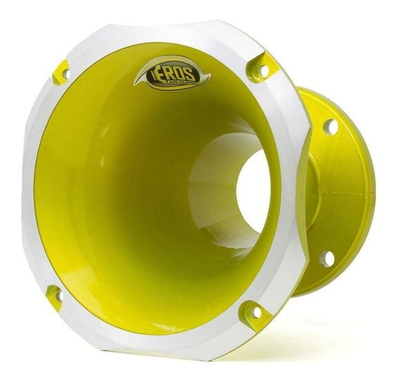 Corneta Eros Ec-4160 Alumínio Amarela