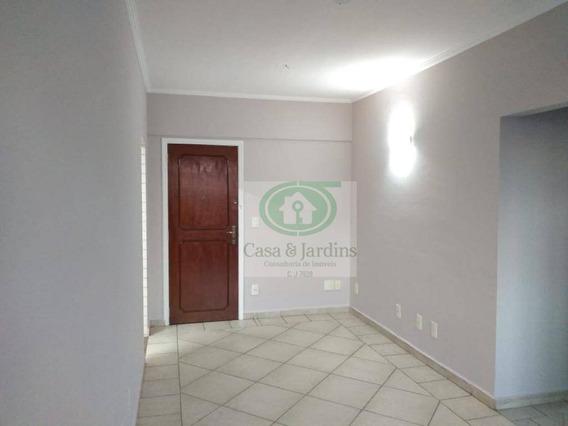 Apartamento Com 2 Dormitórios Para Alugar, 90 M² Por R$ 2.200/mês - Embaré - Santos/sp - Ap5937