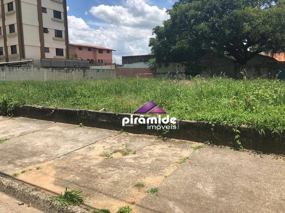Terreno Para Alugar, 900 M² Por R$ 4.500,00/mês - Jardim Alvorada - São José Dos Campos/sp - Te1209