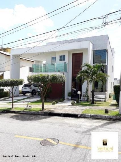 Casa Em Condomínio Para Venda Em Parnamirim, Parque Do Jiqui, 4 Dormitórios, 4 Suítes, 6 Banheiros, 4 Vagas - Vn 7719 Casa Alphaville
