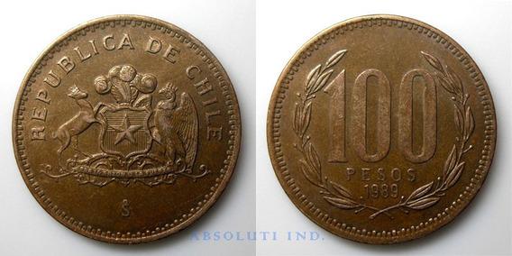 Chile Monedas De 100 Pesos Años 1989-1993 Precio C/u