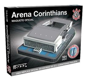 Maquete 3d Arena Corinthians