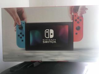 Nintendo Switch Neon 32gb En Caja Todos Sus Accesorios