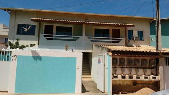 Casa / Apartamento Para Locação Em Rio Das Ostras, Village, 2 Dormitórios, 1 Banheiro, 2 Vagas - Amc1062