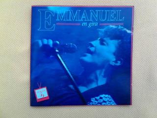 Emmanuel En Gira. Cd Original Y Autentico.usado