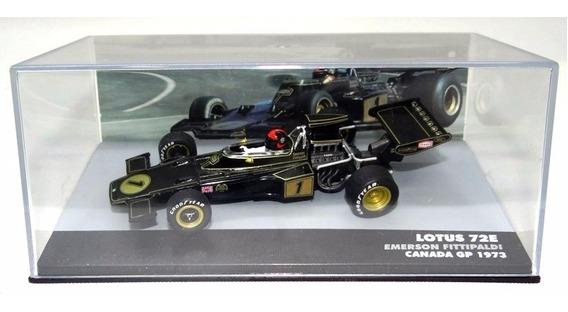 Miniatura Lotus 72e-emerson Fittipaldi 1973 1/43 Ed. 25