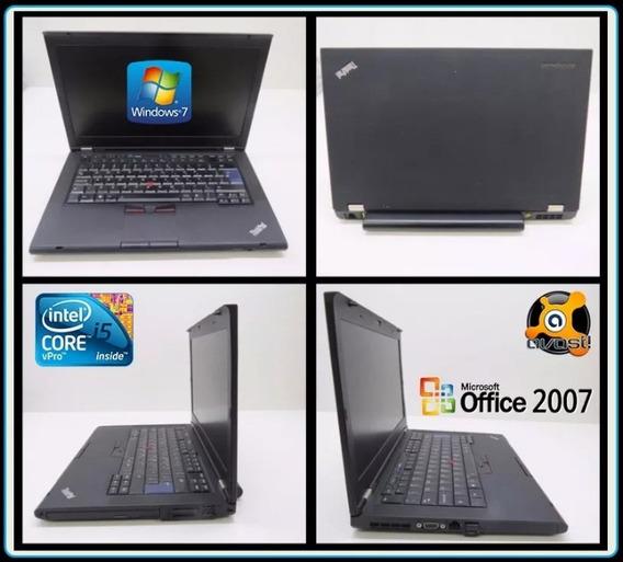 Notebooks Lenovo T420 Core I5-2520m Vpro Hd 500 Gb Mem 4gb