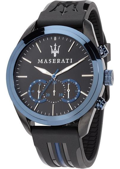 Reloj Maserati Traguardo Azul Hombre R8871612006