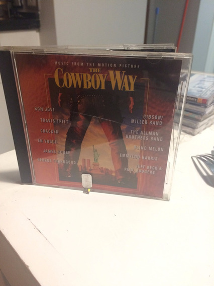 Cd The Cowboy Way Bon Jovi Jeff Beck Blind Melon Usa