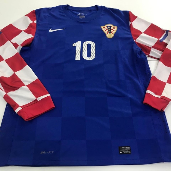 Camiseta Manga Larga De La Selección De Croacia Modric