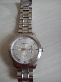 Relógio De Pulso Masculino Marca Seculus Com Calendário!!!