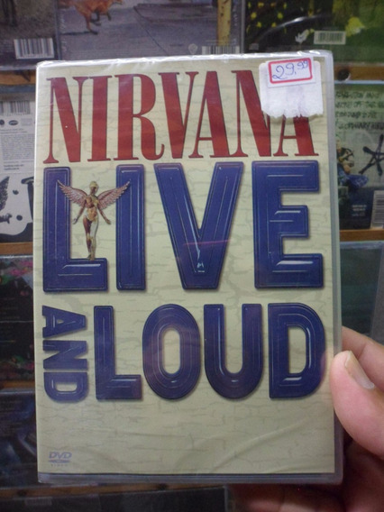 Dvd Nirvana - Live And Loud