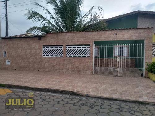 Imagem 1 de 12 de Casa Com 2 Dormitórios À Venda, 70 M² Por R$ 212.000,00 - Plataforma - Mongaguá/sp - Ca4097