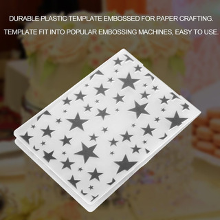 Dobrador Plástico Diy Scrapbooking Álbum Cartão Ferramenta M