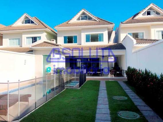 Casa Em Condomínio-à Venda-recreio Dos Bandeirantes-rio De Janeiro - C2899