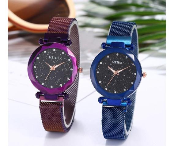Relógio Ladies Moda Luxo Estilo Lançamento